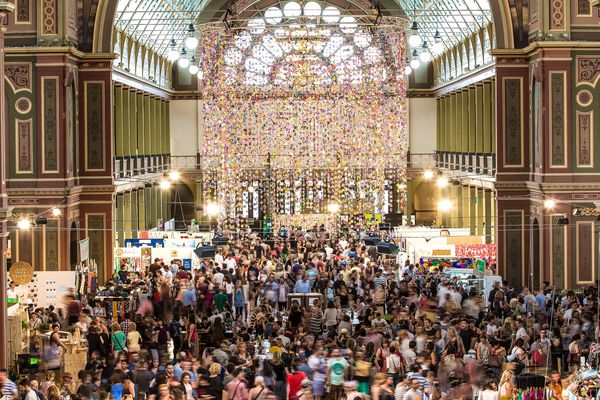 The Big Design Market at the Royal Exhibition Building in Melbourne.