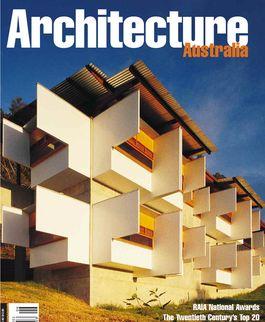 Architecture Australia, November 1999