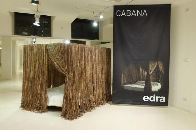 Cabana bed by Edra.