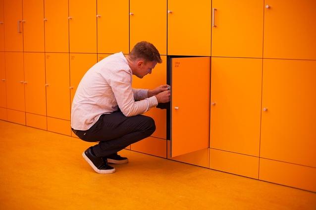 1. Best body of work –- Netherlands pavilion: Work, Body, Leisure by Marina Otero Verzier.