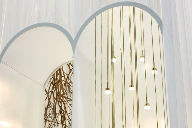 Denfair Stand For Rakumba Lighting by Archier.