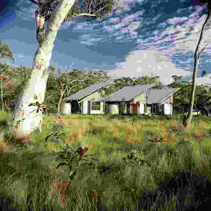 Lake Weyba House by Gabriel and Elizabeth Poole.