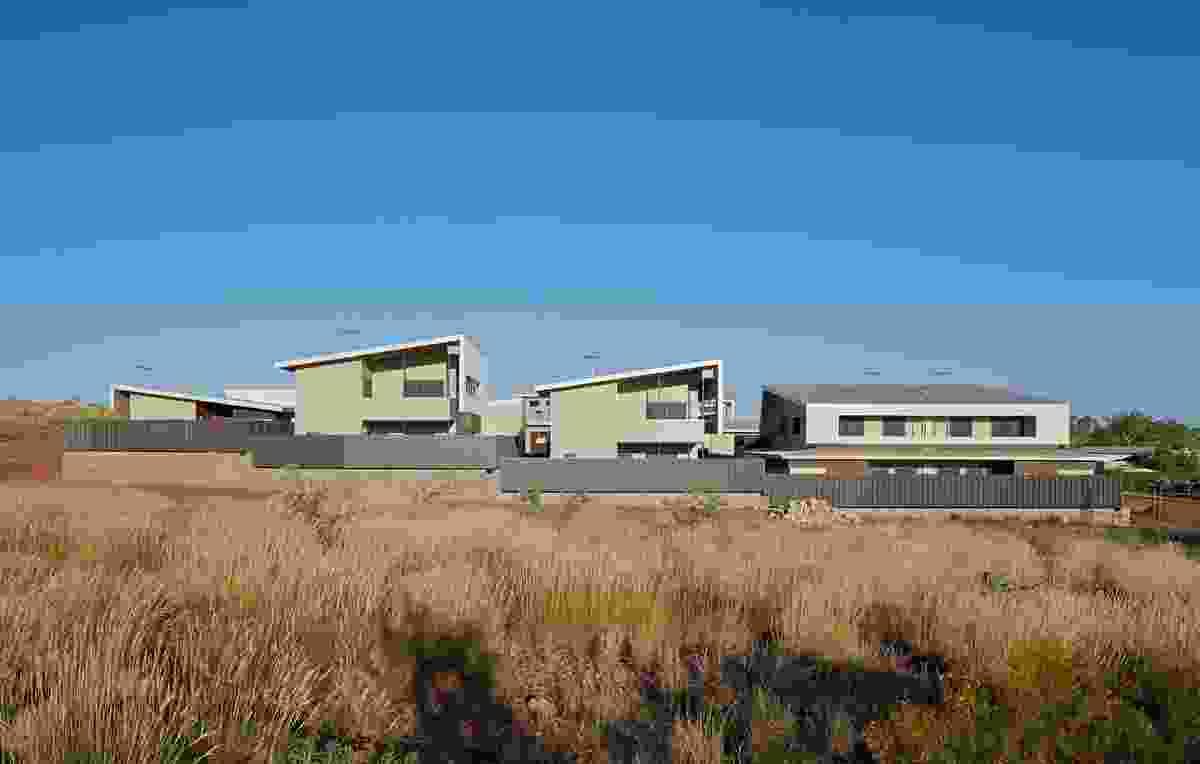 Roebourne Police Housing by Iredale Pedersen Hook Architects.