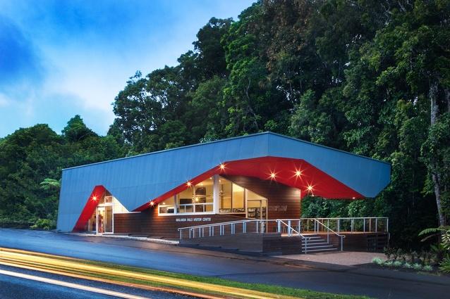Malanda Falls Visitors Centre by Charles Wright Architects.