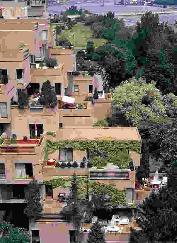 Moshe Safdie's Habitat '67 vertical housing project in Montreal.