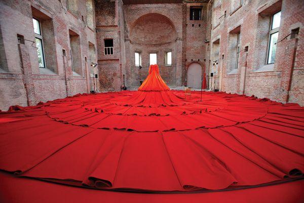 London Design Festival: Reddress by Aamu Song (Company), the Finnish Institute in London.