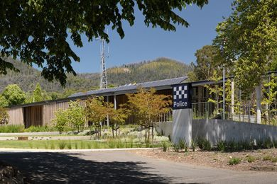 Marysville Police Station by Kerstin Thompson Architects.