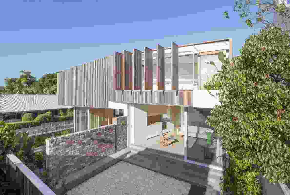 A Balmain Pair by Benn & Penna Architecture.