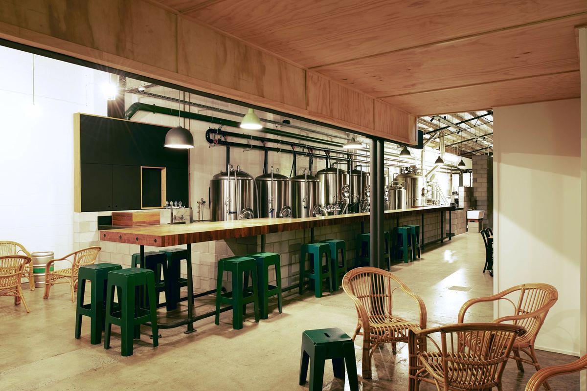 Green Beacon Brewing Company Architectureau