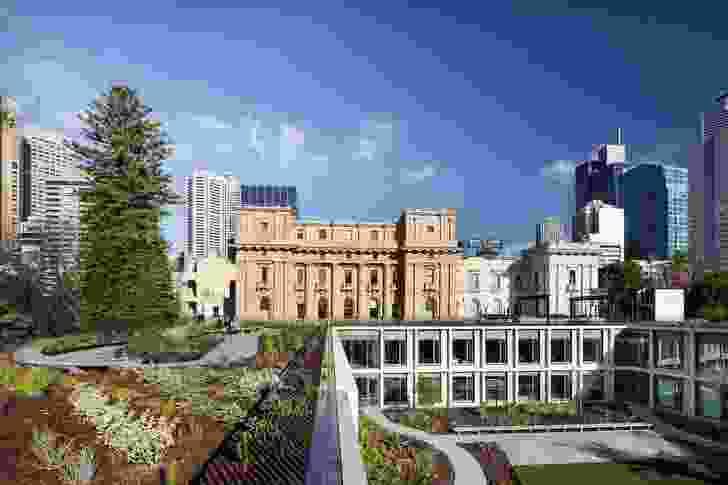 Parliament of Victoria Annex Building by Peter Elliott Architecture and Urban Design.