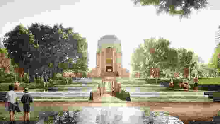 ANZAC War Memorial by Johnson Pilton Walker and the NSW Government Architect.