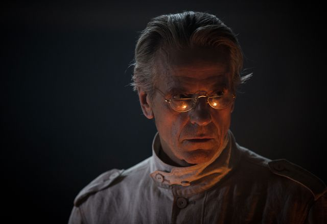Jeremy Irons in High-rise. By international law, all architects in film and television have to be lit like this.
