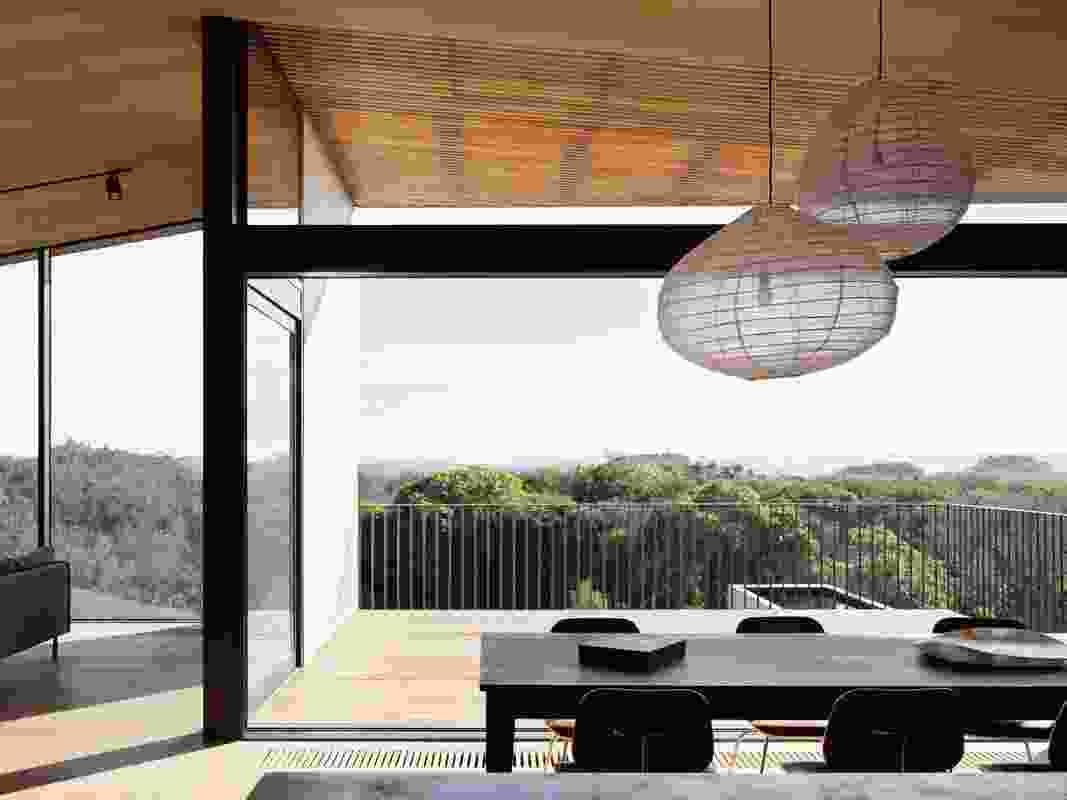 Barwon Heads House by Lovell Burton Architects.