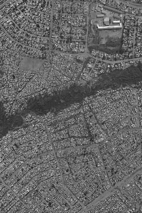 An aerial photograph of the Diepsloot focus area.