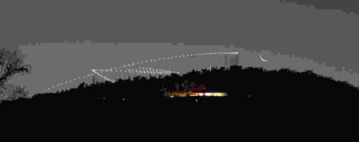"""Freedom Park by MMA Design Studio features 30-metre high steel """"reeds"""", which are a conduit between earth and ancestors and signify the emergence of new life."""