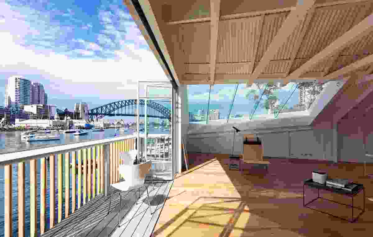 Lavender Bay Boatshed by Stephen Collier Architects.