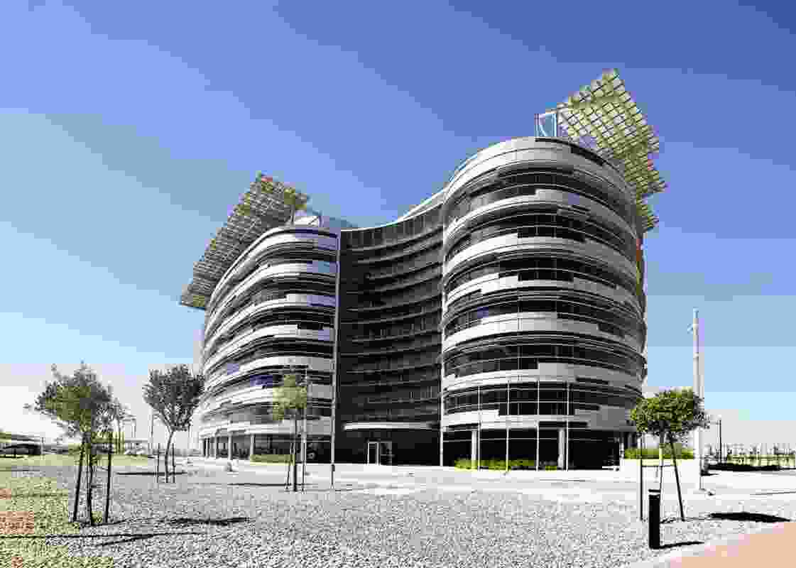 IRENA Headquarters (Abu Dhabi) by Woods Bagot.
