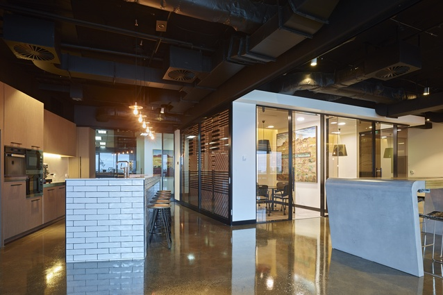 Redchip Lawyers Fitout by Ellivo Architects.