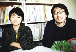Olivia Shih (left) and Yoshihito Kashiwagi (right).