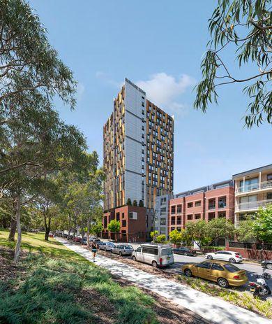 Weehur Redfern Student Housing by Allen Jack and Cottier Architects.