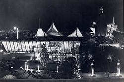 The Australian Pavilion for Expo 67 Montreal Canada, designed by James Maccormick.