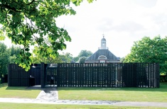 Summer of architecture and art: Christo, Jeanne-Claude and the Serpentine Pavilion.