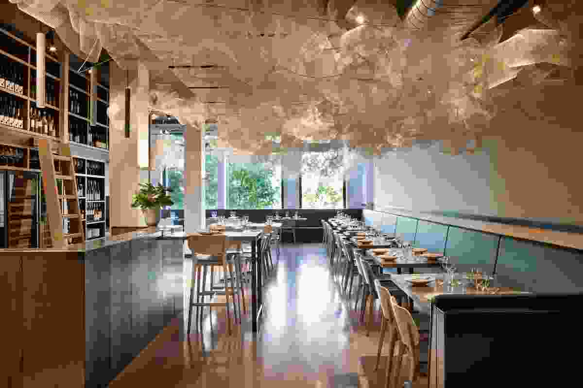 Tonka Restaurant by Techne Architects.