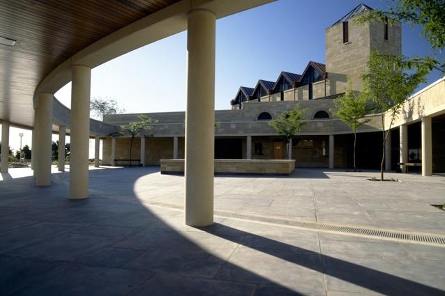 Centennial Park Chapel Complex by Geof Nairn Architects.