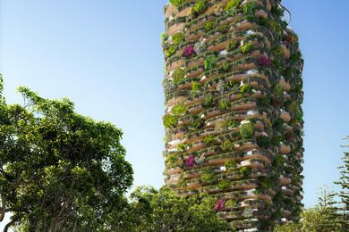 Urban Forest tower in South Brisbane by Koichi Takada Architects.