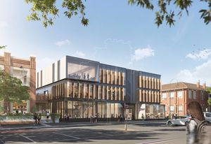 The revitalization of Bendigo TAFE's city campus, designed by Architectus and Six Degrees Architects.