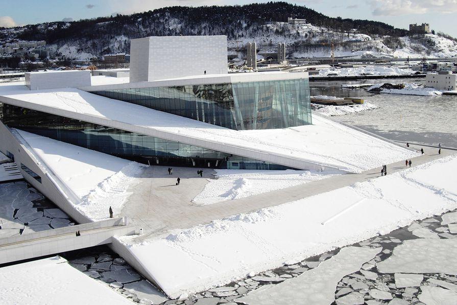Norwegian National Opera and Ballet by Snøhetta. Jenny B. Osuldsen, a partner at Snøhetta, spoke at the 2015 Festival of Landscape Architecture conference.