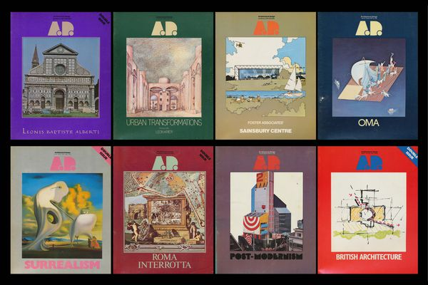 Architectural Design covers, 1977–79.