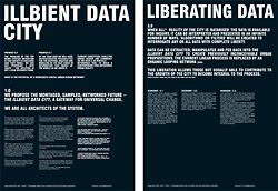 Panels from Room 11's Illbient City proposal for 