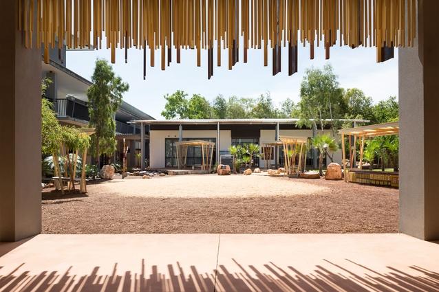 Charles Darwin University - ACIKE Ceremonial Space by Hodgkison.
