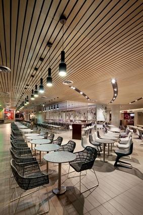 Melbourne Central food court.