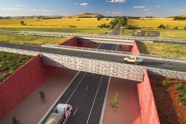 Rememberance Drive Interchange by Oculus, Ballarat, Victoria, Australia.