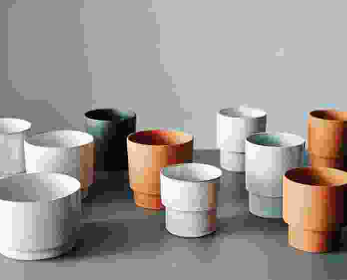 The starting point for Anchor Ceramics' planter collection was the common terracotta pot.