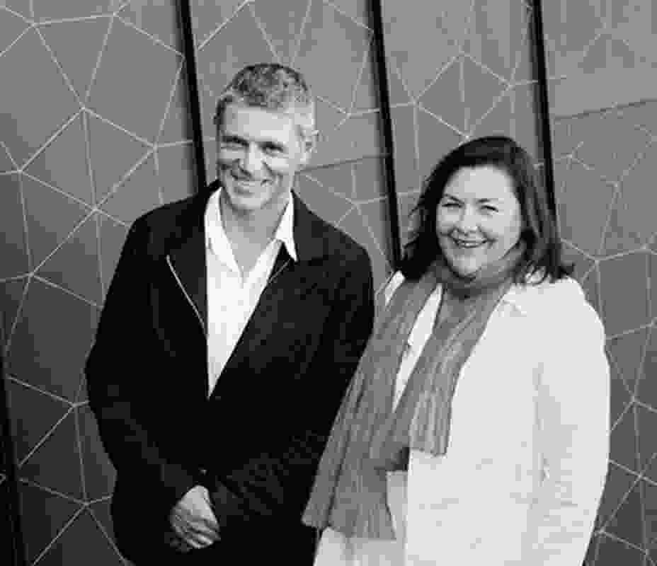 Robert McBride and Debbie Ryan of McBride Charles Ryan.