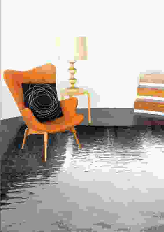 Reflections rug by Mark Cadry.