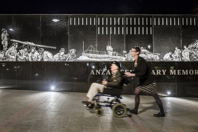 Anzac Centenary Memorial Walk by Grieve Gillett Andersen.