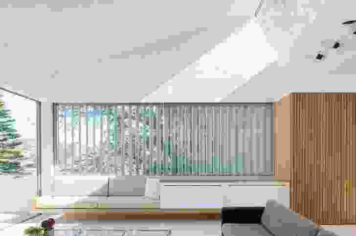 """""""Lightness"""" is a focus of the design, expressed both in the planning and in the considered way that daylight is brought into the interior."""