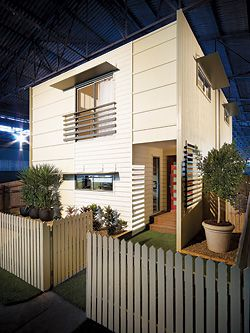 The Smarter Small Home™, designed by Brett Blacklow, is on display in Brisbane. It features James Hardie® and Scyon™ products.