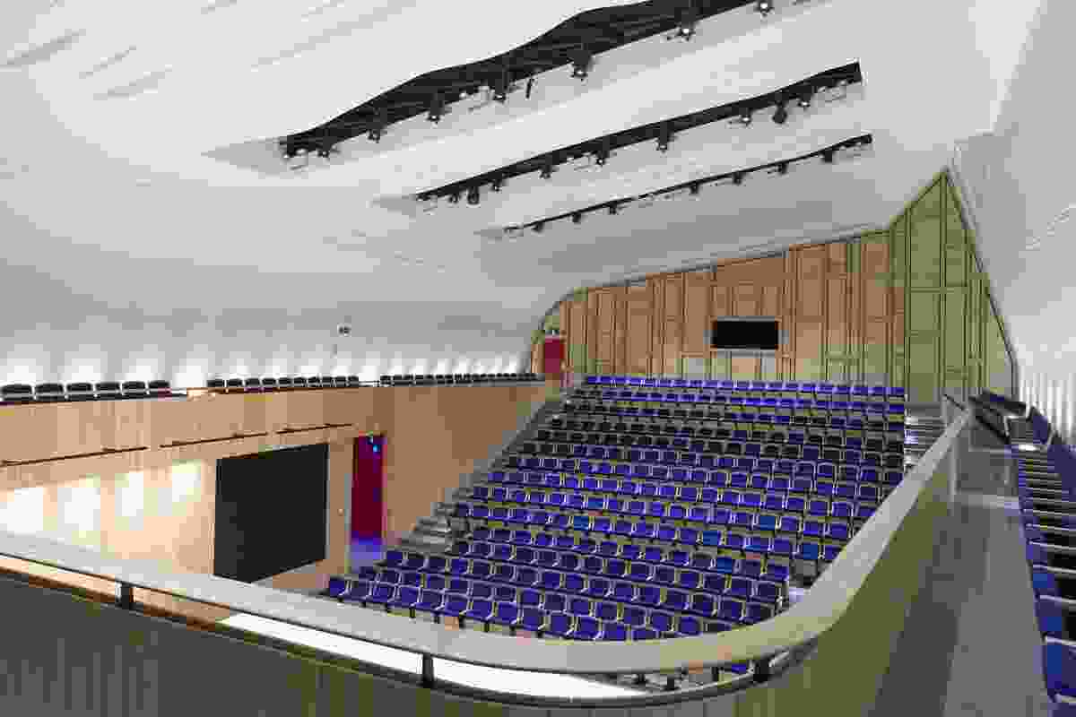 Education winner: The Blyth Performing Arts Centre by Stevens Lawson Architects. This project also won the New Zealand Architecture Medal.