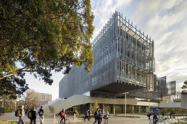 The Melbourne School of Design by John Wardle Architects and NADAAA.