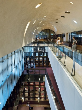 UQ Forgan Smith Building - TC Beirne School of Law and Walter Harrison Library Refurbishment by BVN.