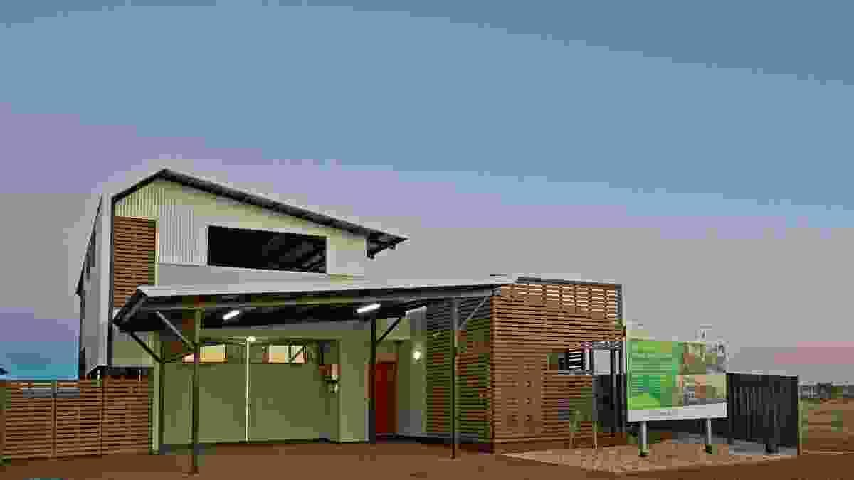 Pilbara Vernacular House by Gresley Abas Architects.