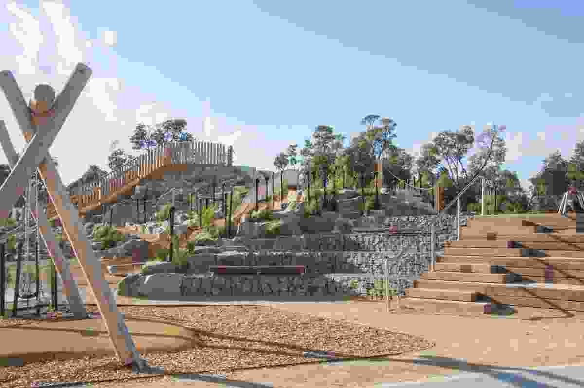 Rosebud Foreshore Playspace by Hassell.