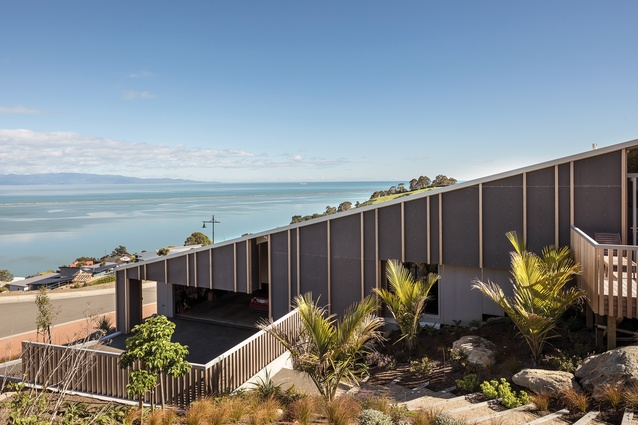 One-Storey House, Nelson by Irving Smith Architects.