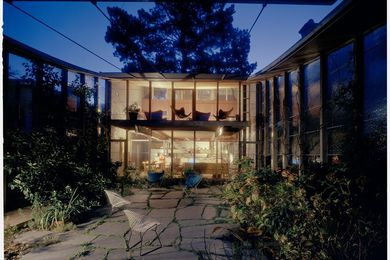 Boyd House, Walsh Street, South Yarra 1958. Architect: Robin Boyd.