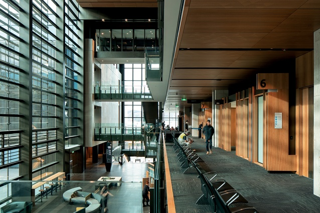 Winner: Interior Architecture category – Christchurch Justice and Emergency Services Precinct by Warren and Mahoney, Opus Architecture and Cox Architecture.